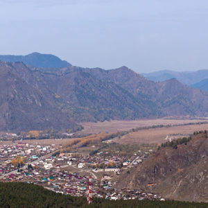 Гора Верблюд – село Чемал