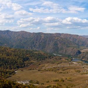 Гора Верблюд – вид с северного склона
