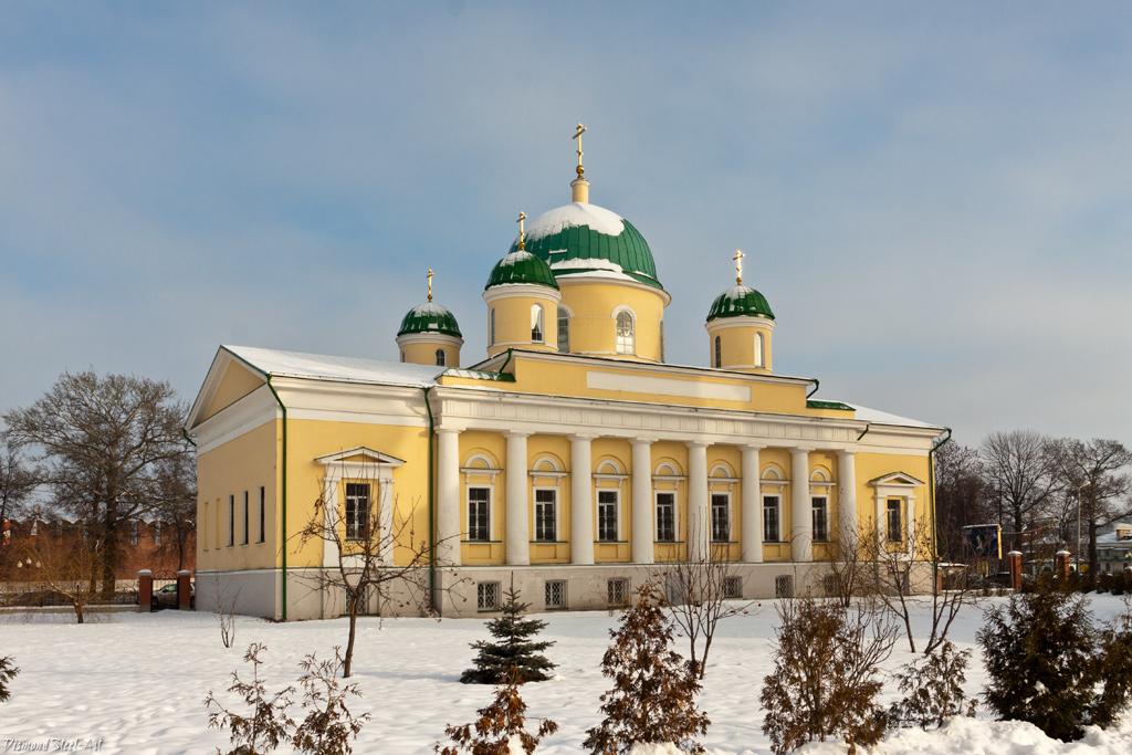 Тула. Церковь Преображения Господня в Успенском монастыре