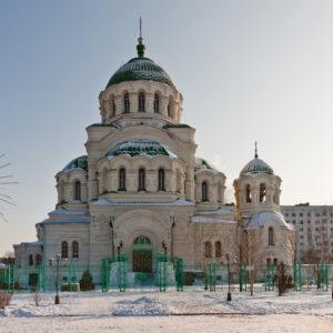 Астрахань. Собор Владимира равноапостольного