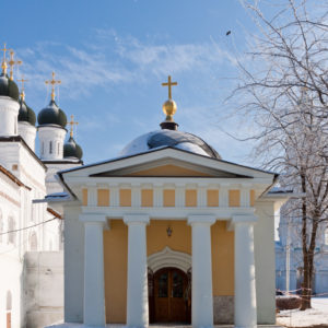 Астрахань. Часовня Кирилла Астраханского в кремле города Астрахань