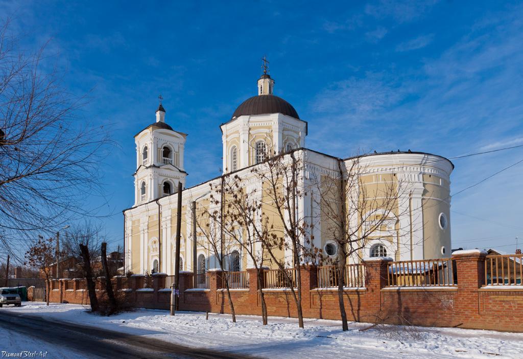 Астрахань. Храм Успения Пресвятой Богородицы, римско-католической церкви