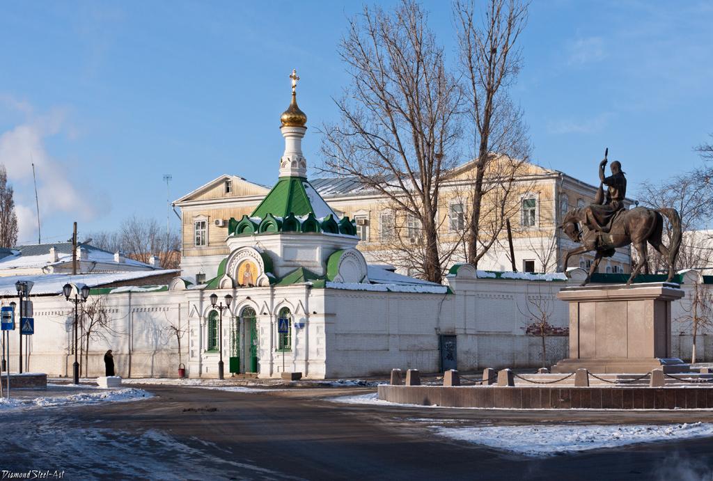 Астрахань. Часовня Николая Чудотворца в Благовещенском монастыре