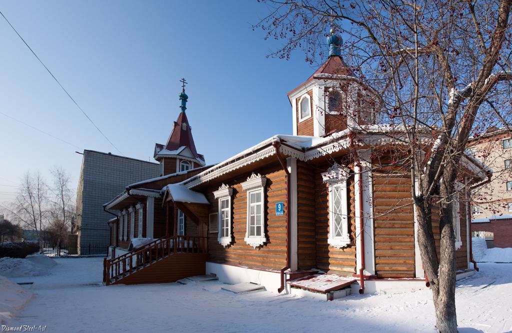 Новосибирск. Церковь в честь Покрова Пресвятой Богородицы
