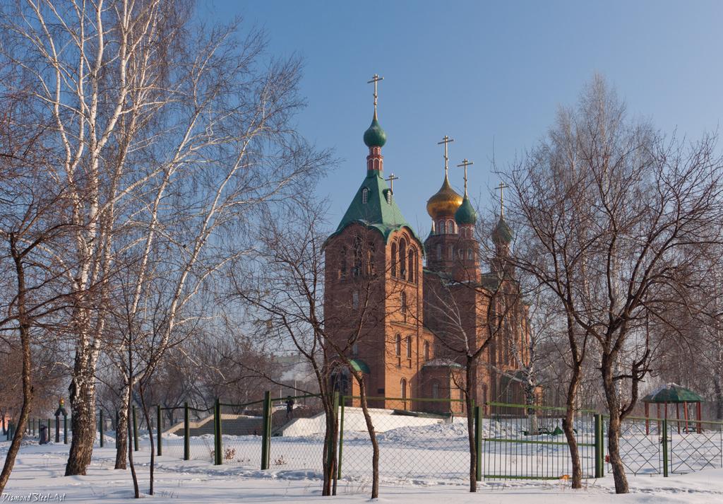 Новоалтайск. Церковь Георгия Победоносца