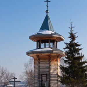 Озерки. Церковь Преображения Господня