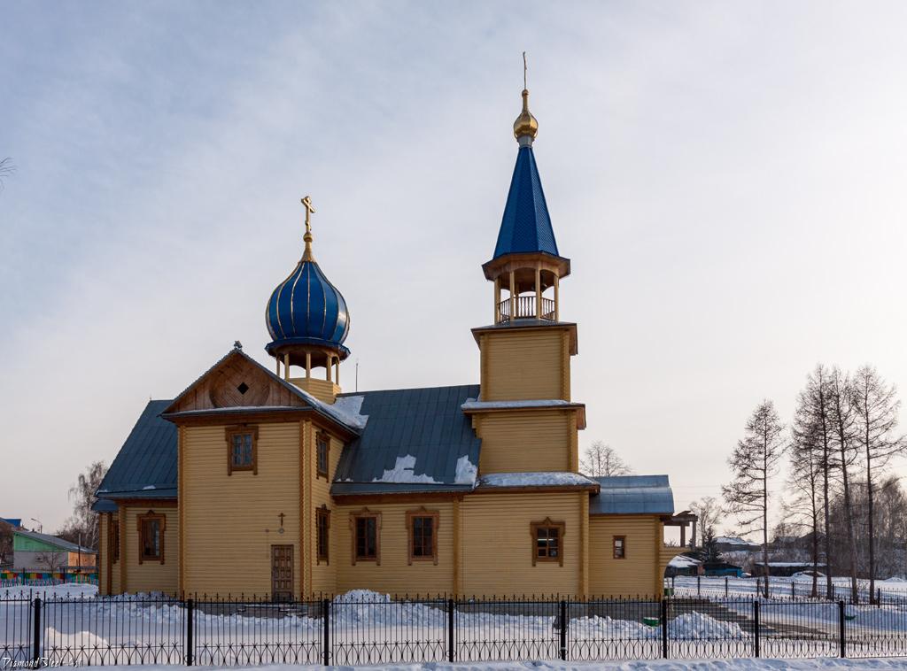 Сузун. Церковь Вознесения Господня
