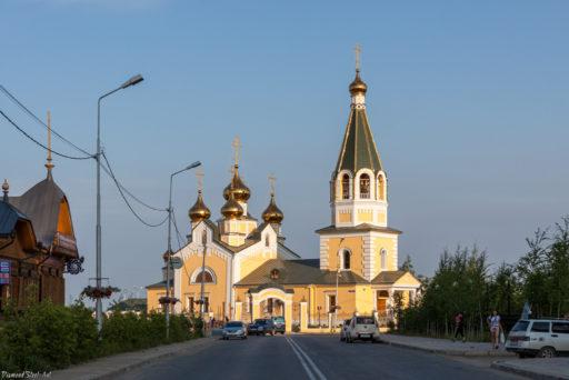 Якутск. Собор Преображения Господня