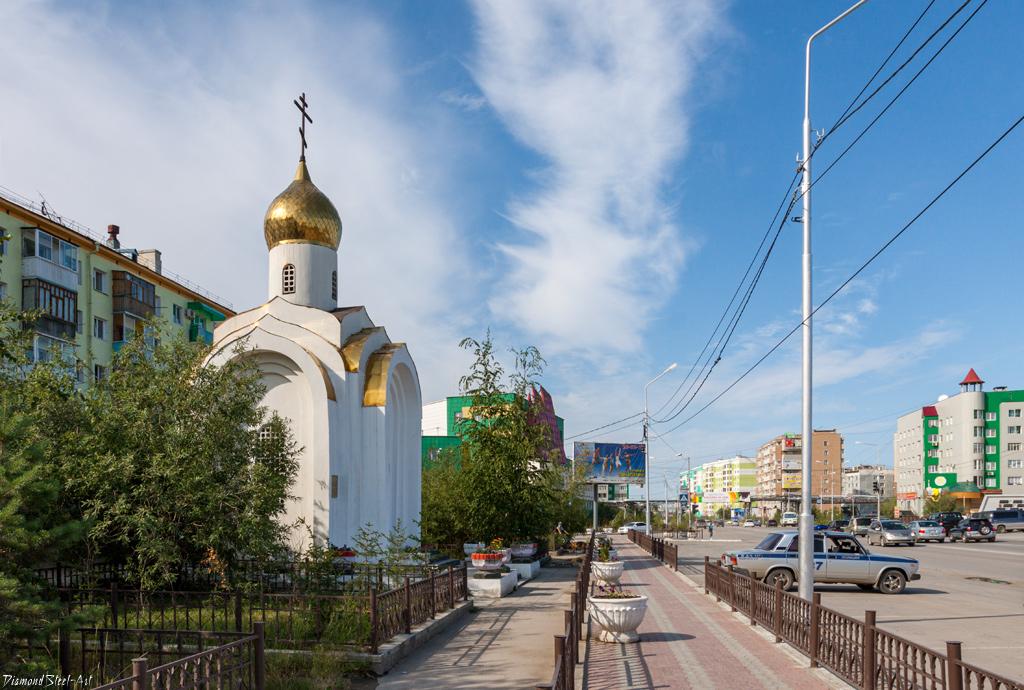 Якутск. Часовня святого великомученика Георгия Победоносца