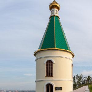 Якутск. Часовня в честь бессмертной Аллы Андреевны