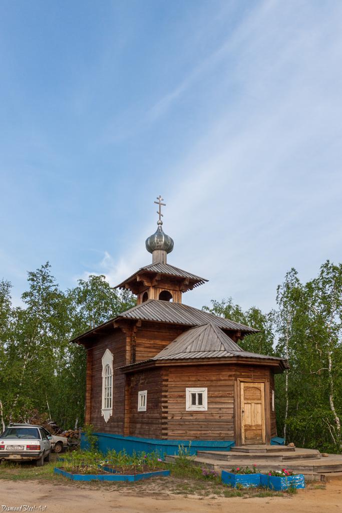 Якутск. Часовня в честь великомучениц Веры, Надежды, Любови и их матери Софии