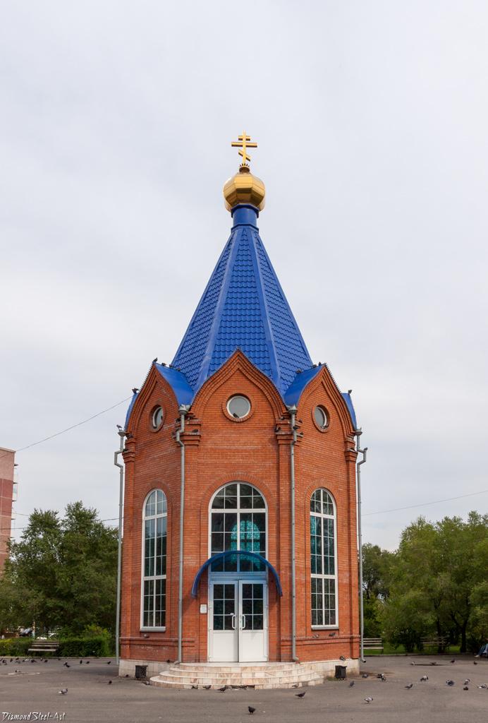 Минусинск. Часовня во имя святого великомученика Пантелеимона