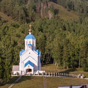 Голубая. Церковь Евдокии Преподобномученицы