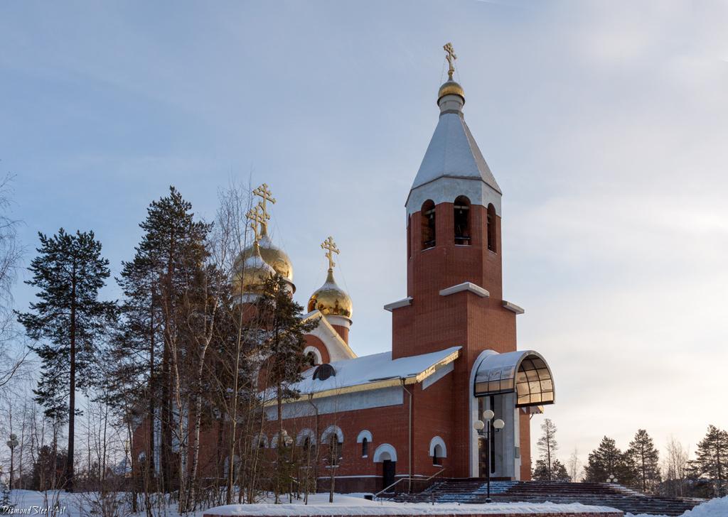 Ноябрьск. Церковь Михаила Архангела