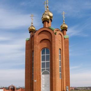 Старая Станица. Мемориал «Фортштадт». Часовня Александра Невского