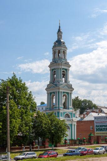 Кострома. Церковь Иконы Божией Матери Знамение в Знаменском монастыре