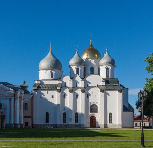 Великий Новгород. Кремль. Собор Софии Премудрости Божией