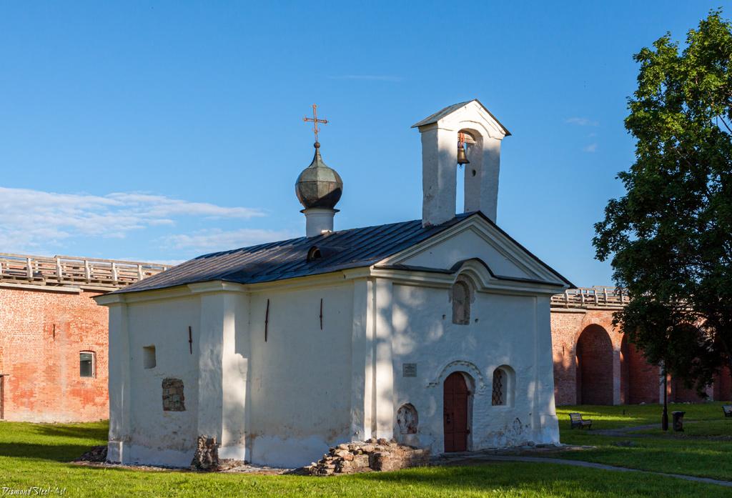 Великий Новгород. Кремль. Церковь Андрея Стратилата