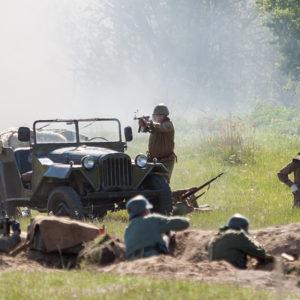 Военно-исторический фестиваль «Сибирский Огонь» 2014