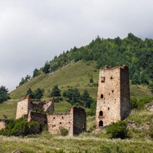 Горная Ингушетия. Башенный комплекс Эгикал