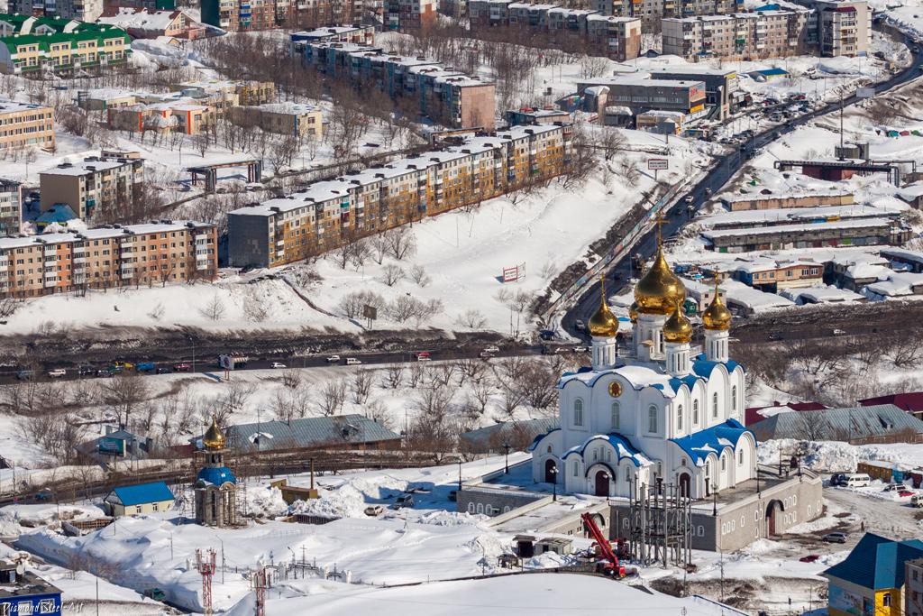 Петропавловск-Камчатский. Собор Троицы Живоначальной