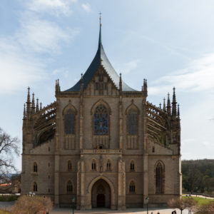 Кутна-Гора. Собор Святой Варвары (Chrám svaté Barbory)