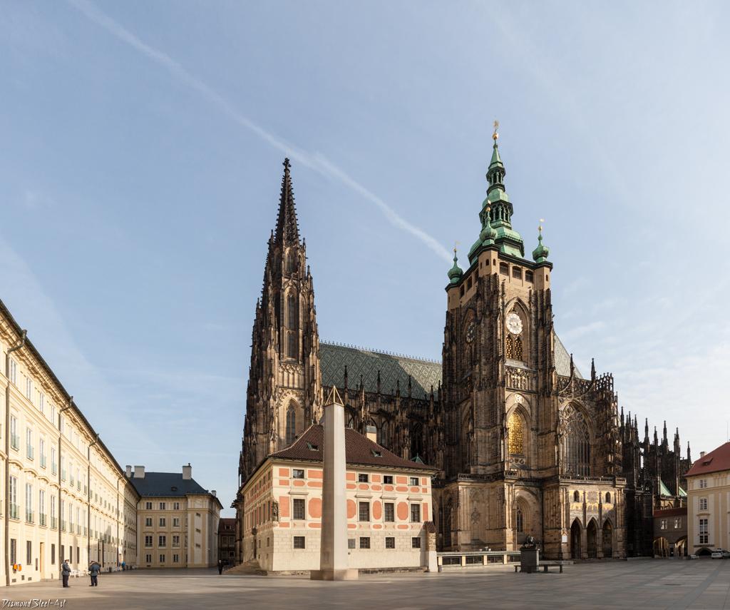 Прага. Собор Святого Вита, Вацлава и Войтеха (Katedrála svatého Víta, Václava a Vojtěcha)
