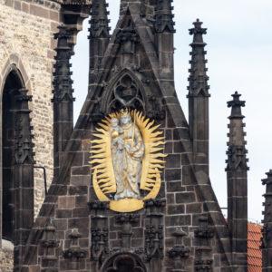Прага. Храм Девы Марии перед Тыном (Kostel Panny Marie před Týnem)