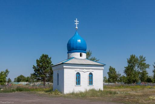 Баган. Часовня великомученика Георгия на кладбище