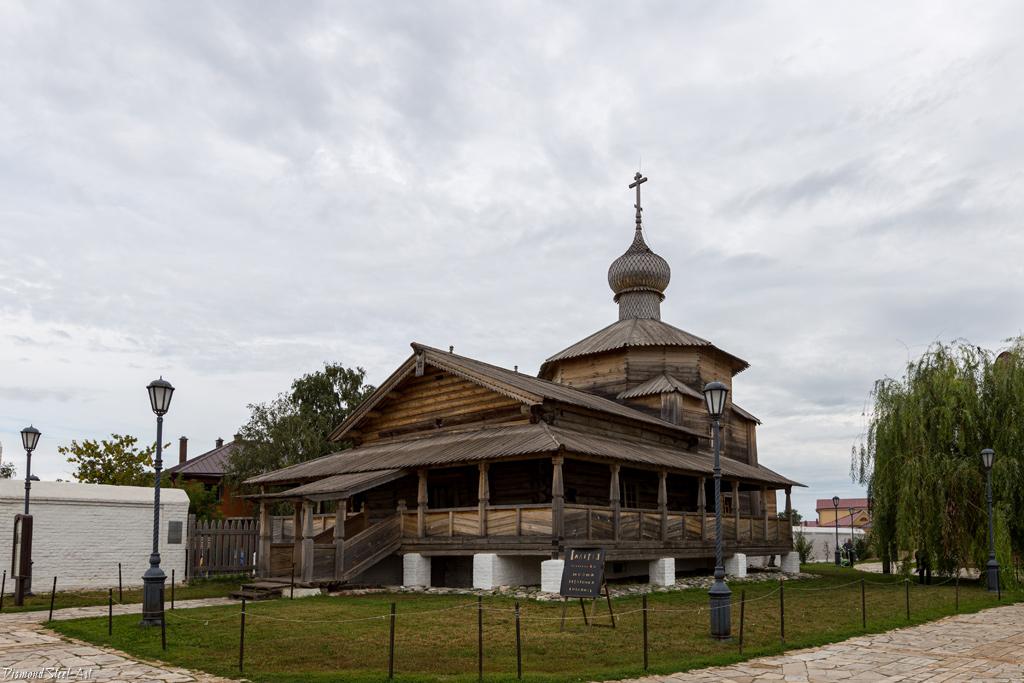 Свияжск. Церковь Троицы Живоначальной в Иоанно-Предтеченском Свияжском монастыре