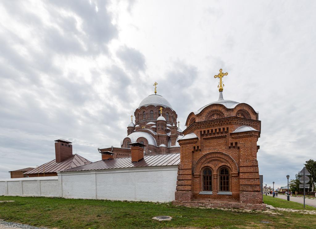 Свияжск. Часовня Царственных Страстотерпцев в Иоанно-Предтеченском Свияжском монастыре
