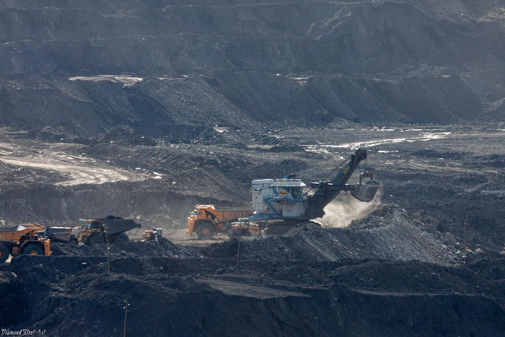 Кемеровская область. Угольный разрез Берёзовский.